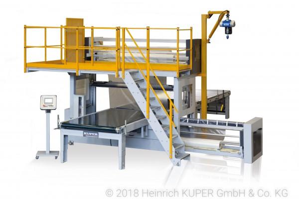 Kuper KFL Ergofoil Folieneinschlagmaschine
