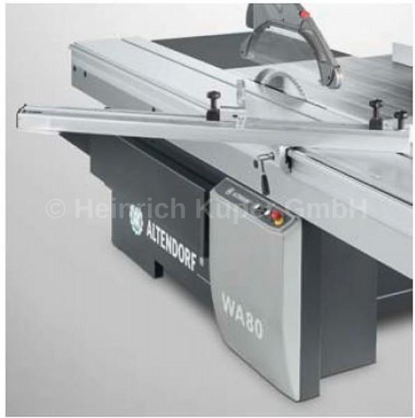 Einseitiger Gehrungsanschlag Ablängen bis 2500 mm B1440.0200 für Wa 80 und F45