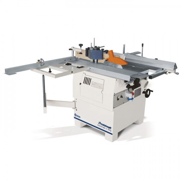 Holzkraft minimax c 30g TERSA Mehrfachkombination - Sägen/Fräsen/Abricht-Dickenhobeln/Langlochbohren