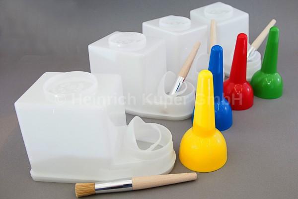 Leimsparbehälter TS-Boy 1,5 ltr., für Leime, Kleber und leichtverdunstbare Flüssigkeiten, einschl. R