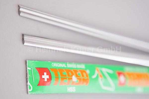 TERSA Wendemesser HSS, Länge: 520 mm, Hobelmesser System TERSA, Preis pro Messer, Verpackungsinhal